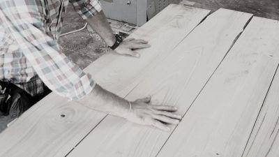 Come nasce un tavolo in legno massello Xlab