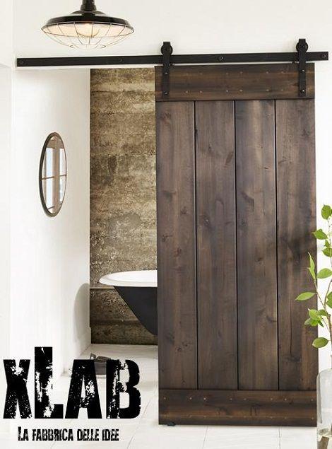 Porte scorrevoli esterno muro XLab: la novità per valorizzare la tua casa