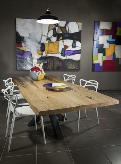 Tavolo in legno massello XX: la stella di XLab