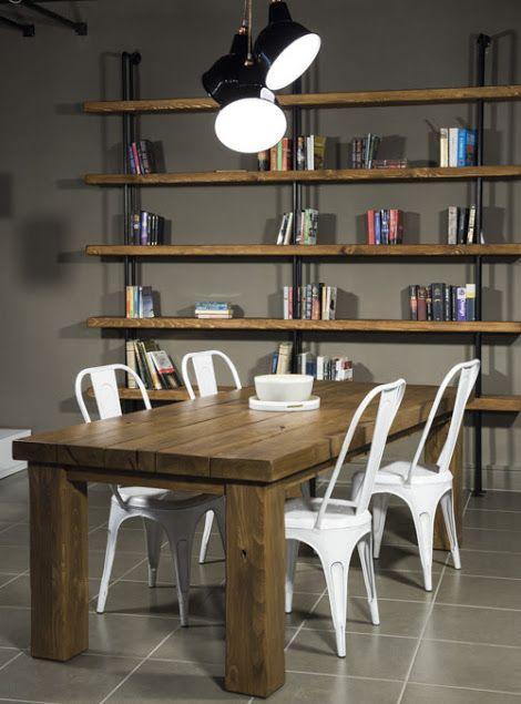 Libreria da parete stile industriale: Quasimodo - XLAB Design