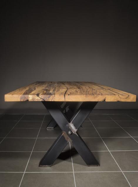 Tavolo in legno massello antico: Rick