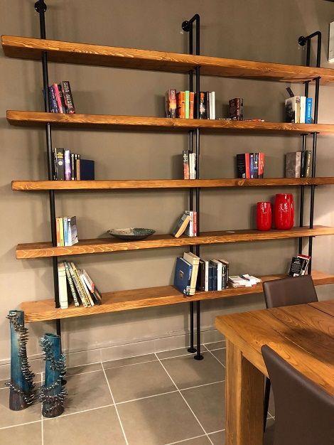 Libreria Ferro Industriale.Libreria Da Parete Stile Industriale Quasimodo Xlab Design