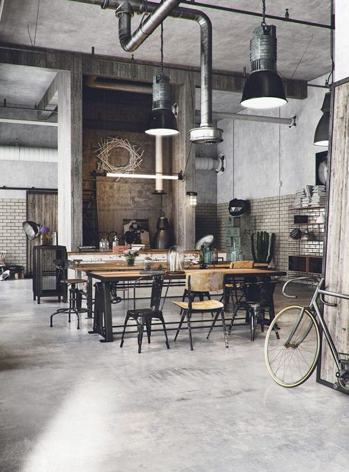 Arredamento in stile industriale: 10 idee dal design unico!