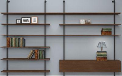 Librerie a parete di design per il soggiorno: idee e soluzioni per ogni stile di arredo