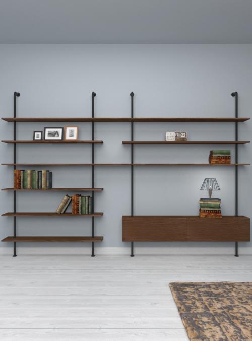libreria-parete-design-legno-promozione-xlab-svevo