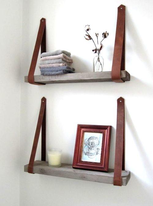 Mensole in legno massello: idee per arredare le pareti con praticità