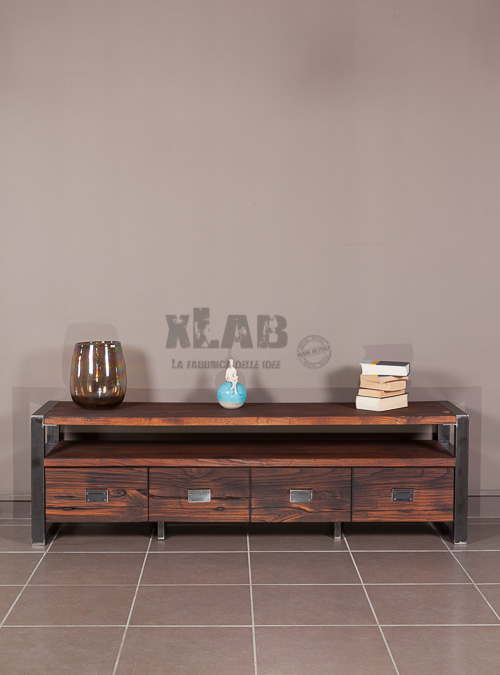 mobile-tv-old-style-stile-industriale-ferro-legno-xlab-design