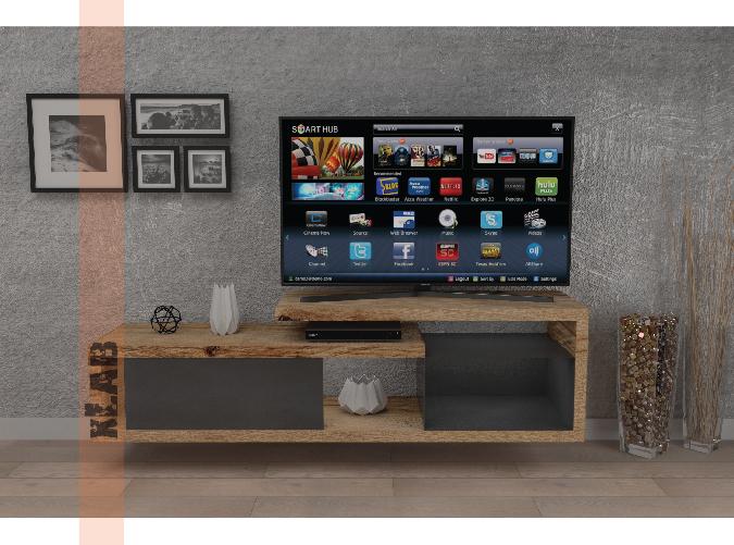 Xlab rendering moblie porta Tv da salotto modello Jeff