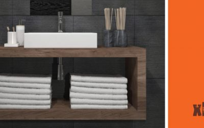 I mobili da bagno sospesi in legno massello di Xlab
