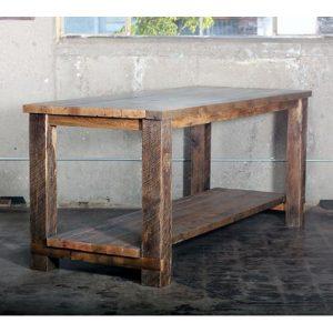Banco da lavoro isola cucina legno massello di recupero Ancient Island