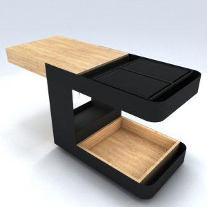 Barbecue ecologico portatile Pirolitico di Design