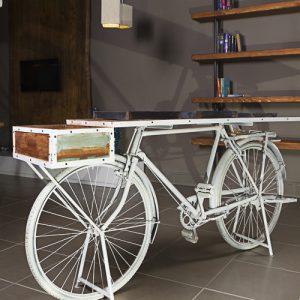 Bicicletta vintage consolle da ingresso Grace