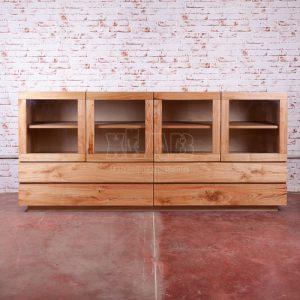 Credenza da cucina moderna in legno massello Ester