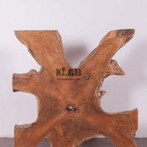 Decorazione da parete in legno radice di teak Flo