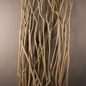 Divisorio separè Natural Roots in radice di teak