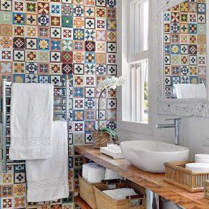 Doppia mensola SLIM piano lavabo in legno scegli la tua misura
