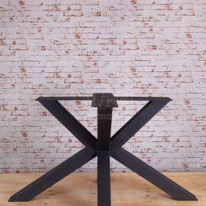 Gamba a stella per tavoli in ferro Vittorio Emanuele