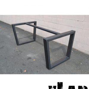 Base in ferro grezzo per tavoli Wright