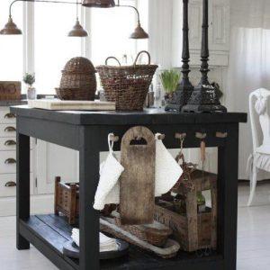 Isola cucina piano di lavoro vintage Work Board