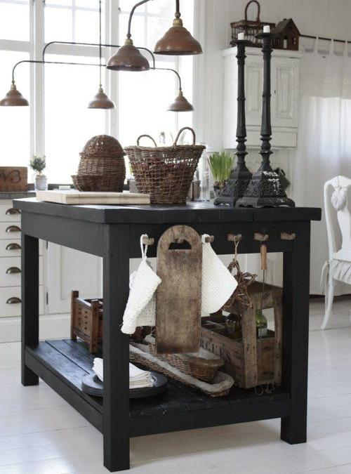 Isola Cucina Piano Di Lavoro Vintage Work Board Xlab