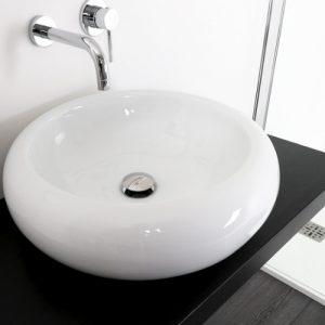 Offerta lavabo bacinella in ceramica diametro 50 cm