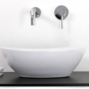 Offerta lavabo ovale in ceramica 40×33