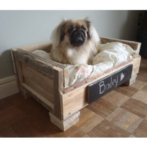 Lettino per cani in stile vintage Bailey