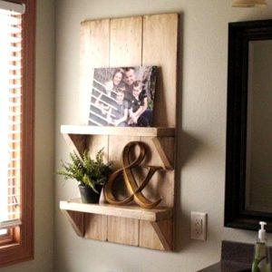 Mensola bagno in legno Lizzy eco design