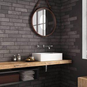 Mensola piano lavabo Elizabeth in legno massello di rovere scegli la tua misura