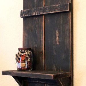 Gate mensola legno abete Eco Design
