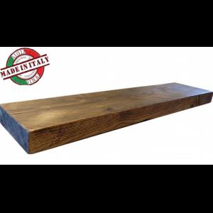 Mensola da parete in legno massello abete 60x20x5