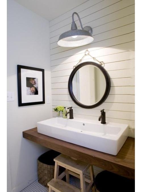Mensola bagno appoggio per lavabo Josie bordo squadrato
