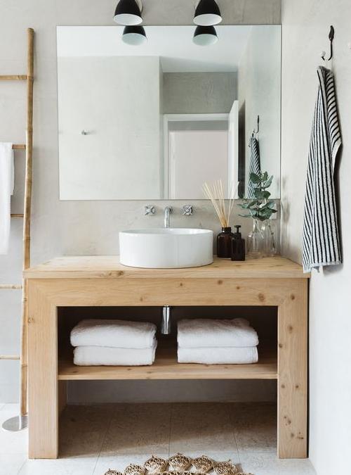 Mobile bagno stile nordico design