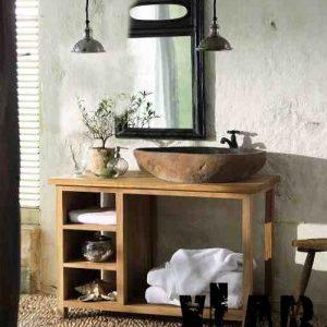 Mobile da bagno Megan in legno American style