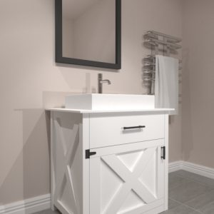 Mobile bagno stile country chic - XLAB Design