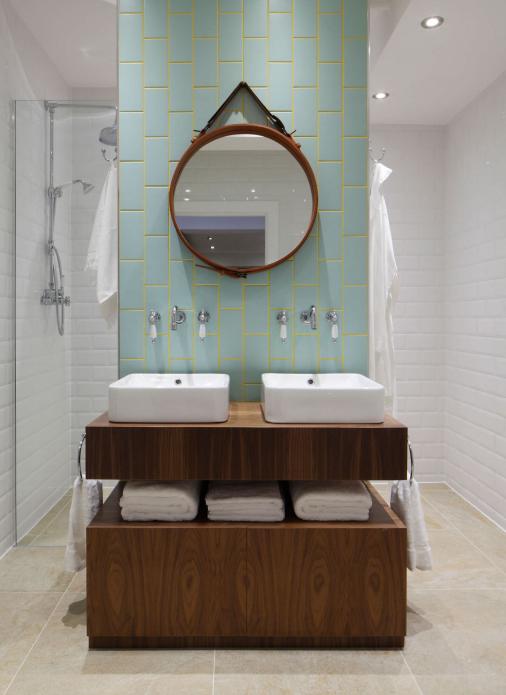 Mobile arredo bagno con doppio cassettone angie xlab design for Mobile bagno minimal