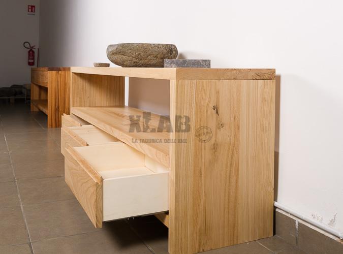 Mobile bagno con cassetti design minimal scarlett xlab for Mobile bagno minimal