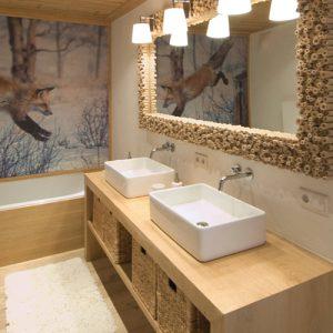Mobili arredo bagno in legno massello - XLAB Design