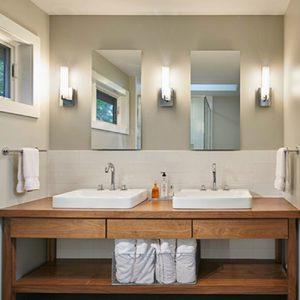 Mobile da bagno stile minimalista con cassetti Charlotte