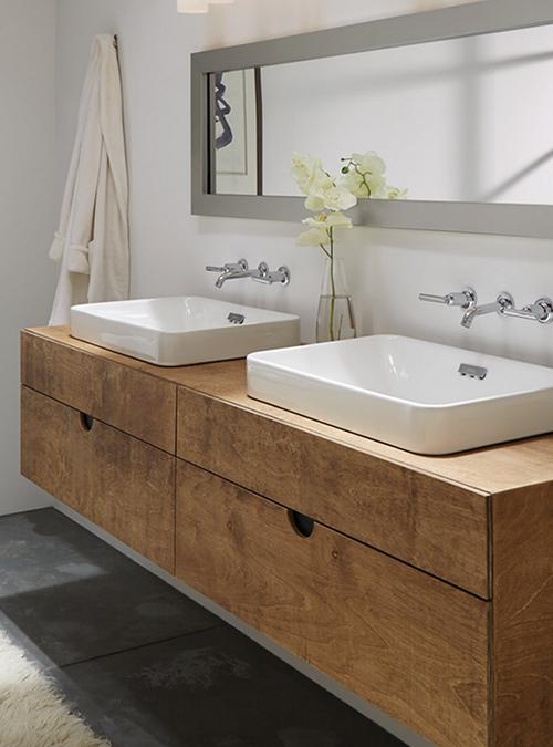 Mobile bagno in legno di multistrato fenolico sissy xlab for Mobile bagno legno