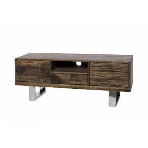 Mobile porta TV in legno di riciclo Burton
