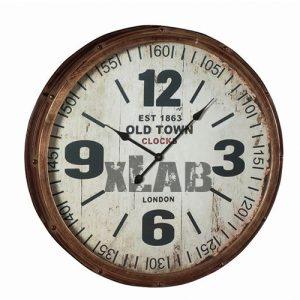 Orologio da parete vintage Old Town Clock