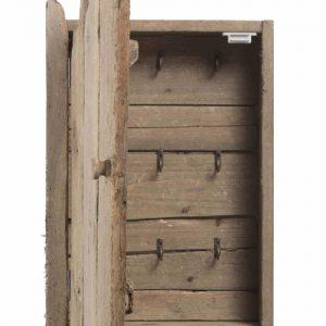 Charlie portachiavi da parete in legno di riciclo