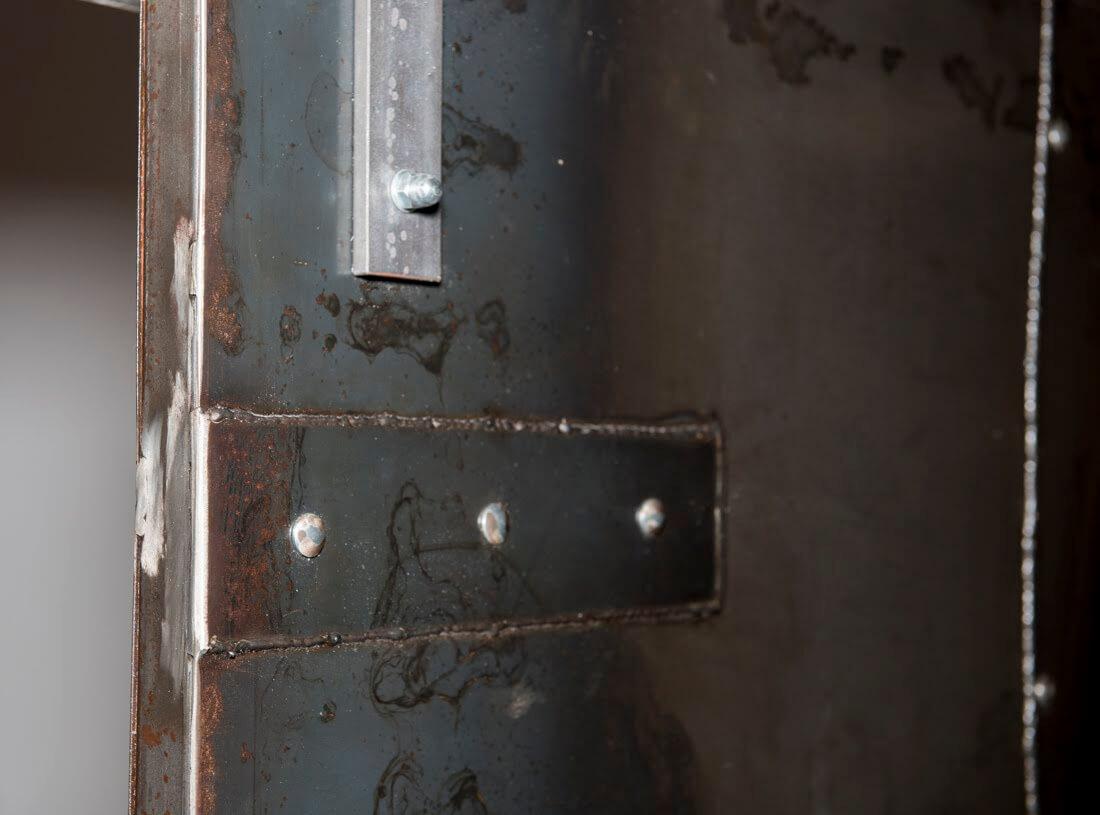 Porte Scorrevoli Stile Industriale porta su misura online scorrevole in lamiera d'acciaio stile industriale  jack