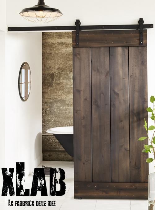 Porta scorrevole stile industrial Barn Doors