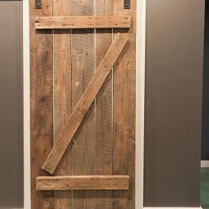 Porta scorrevole Barn Doors industrial Pert