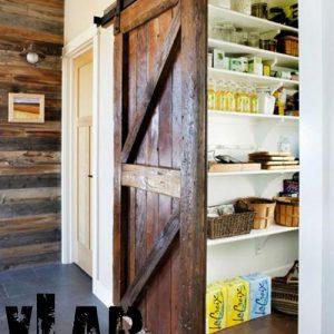 "Barn door porta scorrevole stile vintage ""Liù"""