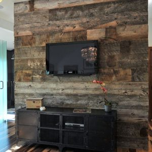 Rivestimento in legno di larice vintage per pareti interne 1mq Madrid