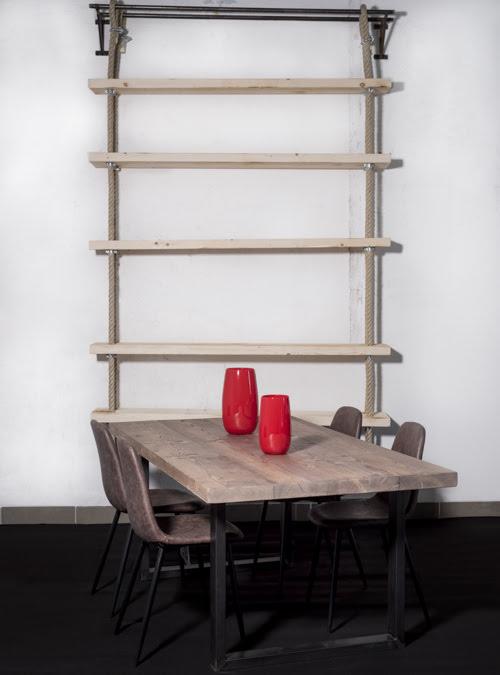 Tavolo legno massello di riuso rustic wood xlab design for Tavoli da soggiorno in legno