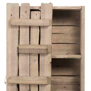 """""""Cervino"""" scaffalino da baita in legno   di riuso"""